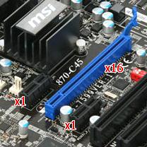 Шина PCI Express x1, x2, x4, x8, x16