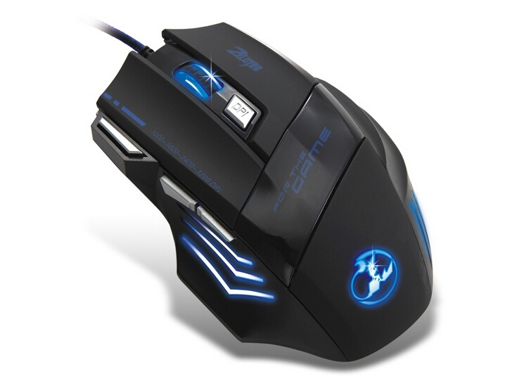 Pc-mause-3D-USB-computer-gaming-mouse-3200dpi-for-Dota2-games-x7-air-mouse-gamer-laptop