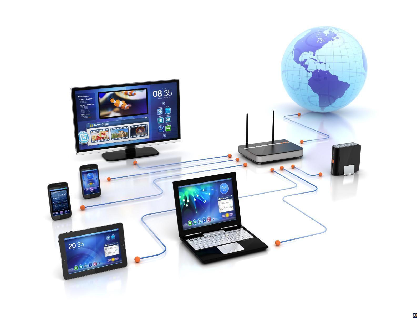 Домашняя локальная сеть: топология, настройка, подключение устройств, сетевое хранилище и общий доступ.